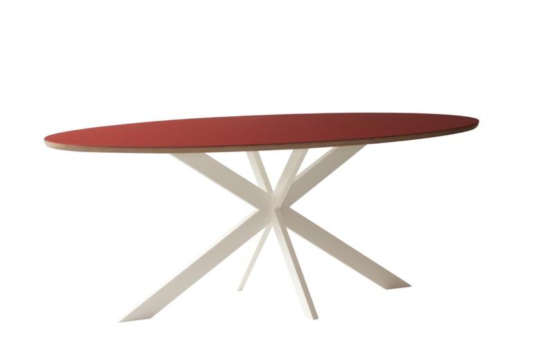 Assortiment ovale tafel